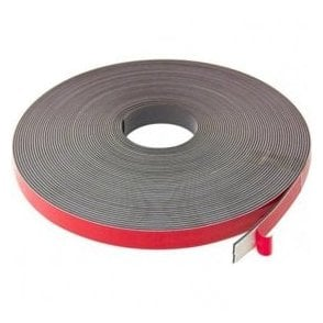 MagFlex® 19mm wide x 2.5mm thick Magnetic Tape - Foam Self-Adhesive
