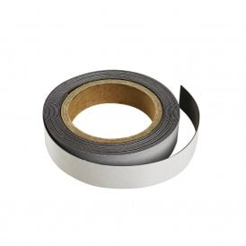 MagFlex® 20mm Wide Flexible Magnetic Strip - Standard Self-Adhesive