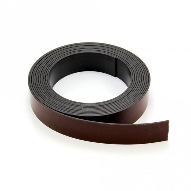 MagFlex® 25.4mm Wide Flexible Magnetic Tape - Premium Self-Adhesive