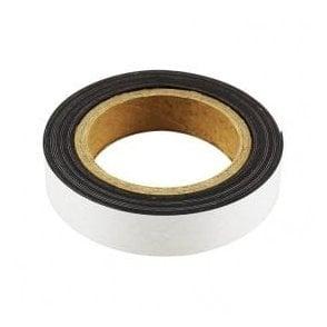 MagFlex® 25mm Wide Flexible Magnetic Strip - Standard Self-Adhesive