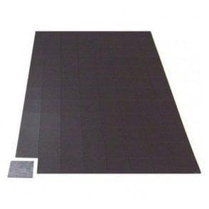 MagFlex® 25mm x 25mm Self-Adhesive Flexible Magnetic Squares - 96 per A4 Sheet