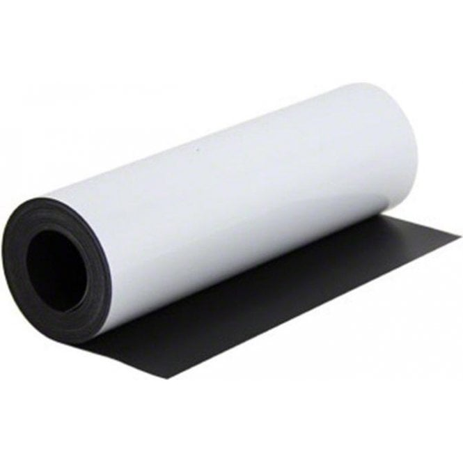 MagFlex® 300mm Wide Flexible Magnetic Sheet - Gloss White