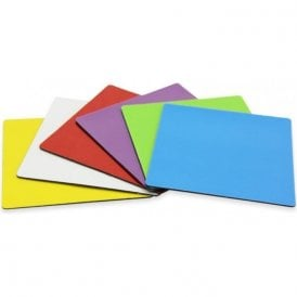 MagFlex® 75 x 75 x 0.85mm Flexible Magnetic Sheet with Gloss Dry-Wipe Surface