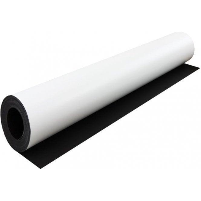 MagFlex® Dual Lite 620mm Wide Flexible Magnetic Sheet - Matt White