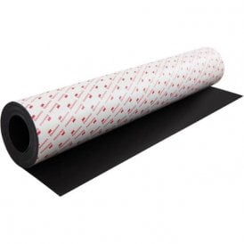 MagFlex® Lite 620mm Wide Flexible Magnetic Sheet - 3M™ Self Adhesive (1 Metre Length)