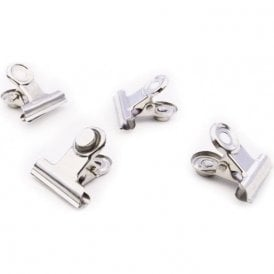 Magnetic Clip MINI-GRAFFA, Set of 4, Chrome-Plated