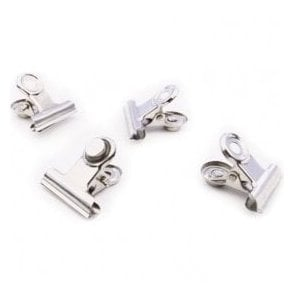 Magnetic Mini Grip Clips - Chrome