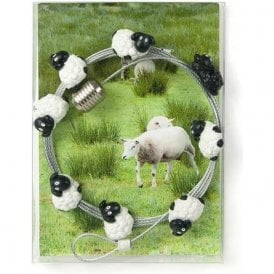 Magnetic Photo Wire with 8 Sheep Magnets - 150cm