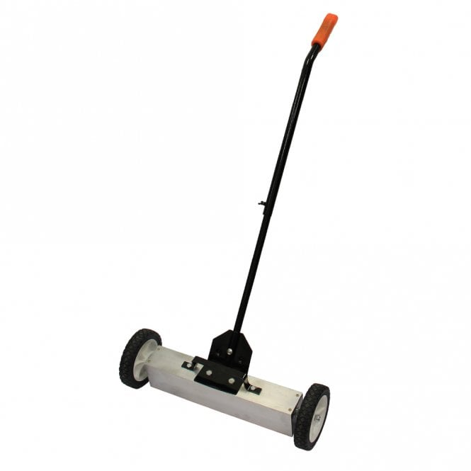 """Magnetic Sweeper With Switchable Release - Sweeps Nails & Screws Quickly (23.5"""" wide)"""