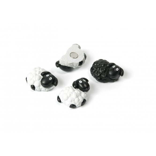 Magnets Sheep Set of 4, Assorted