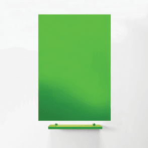 MagniPlan 1200mm x 900mm Coloured Magnetic Glass Wipe Boards