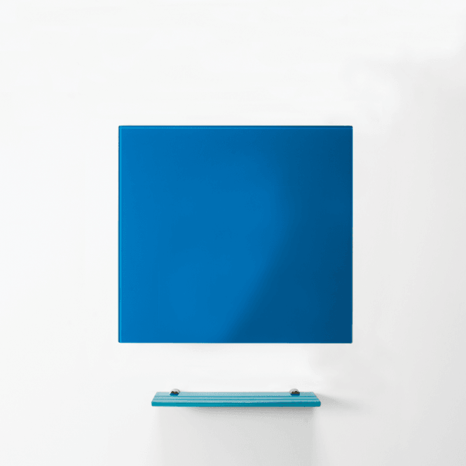 MagniPlan 450mm x 450mm Coloured Magnetic Glass Wipe Boards