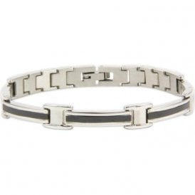 Men's Rare Earth Magnetic Bracelet with Fold-over Clasp – Equinox