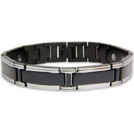 Men's Rare Earth Magnetic Bracelet with Fold-over Clasp – Neutrino