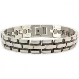 Men's Rare Earth Magnetic Bracelet with Fold-over Clasp – Pulsar