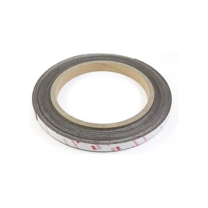 NeoFlex® 12mm Wide Flexible Neodymium Magnetic Strip - 3M™ Self-Adhesive
