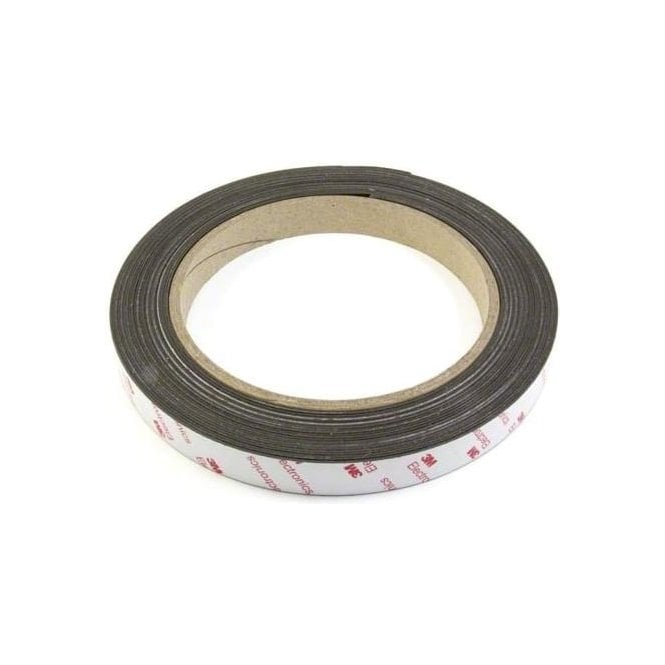 NeoFlex® 25mm Wide Flexible Neodymium Magnetic Strip - 3M™ Self-Adhesive