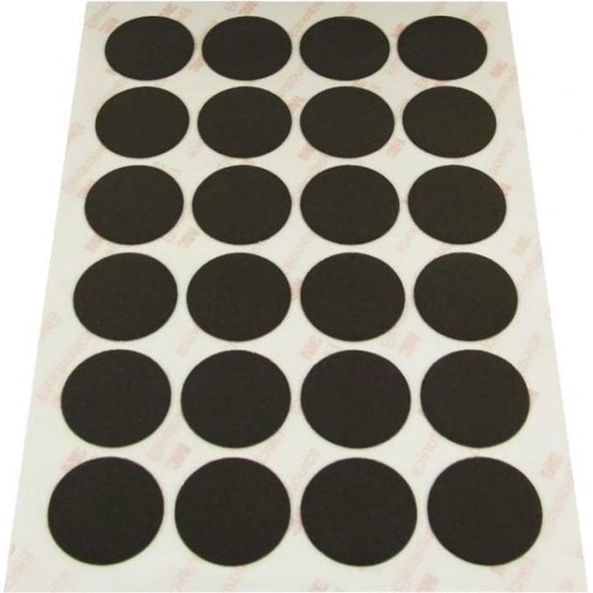 NeoFlex® 30mm Dia Self-Adhesive Flexible Neodymium Dots - 24 per A5 Sheet