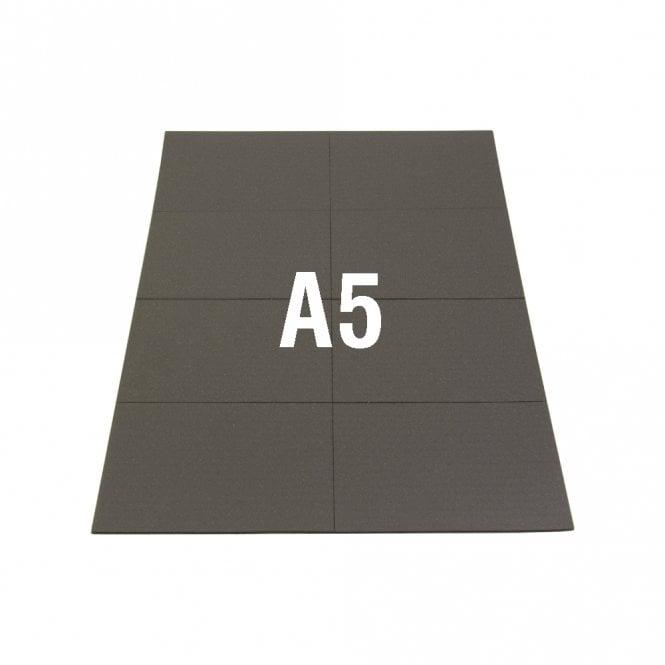 NeoFlex® 74mm x 52mm Self-Adhesive Flexible Neodymium Rectangles - 8 per A5 Sheet