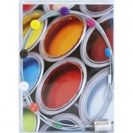 Photo Wire DOTS, 8 Magnets / 150 cm / Postcard