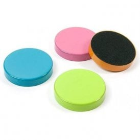 Plain Circular Office Magnets - Assorted (1 set of 4)