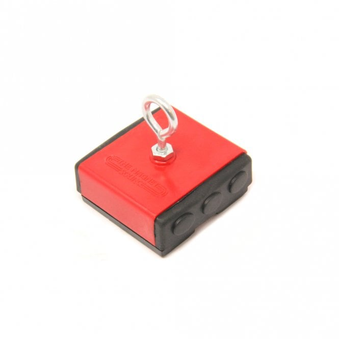 Plastic Covered Holding Magnet - 18kg Pull
