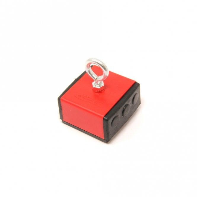 Plastic Covered Holding Magnet - 45kg Pull