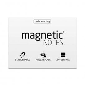 Tesla Amazing Magnetic Notes - 7 Colours (100mm x 70mm)