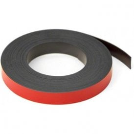 Red 12.7mm wide x 0.76mm thick Magnetic Gridding Tape ( 12.7mm x 0.76mm x 5 Metres ) ( Pack of 10 )