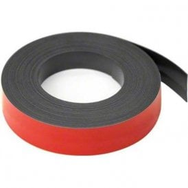 Red 25mm wide x 0.76mm thick Magnetic Gridding Tape ( 5 Metre Length )
