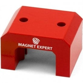 Red Alnico Horseshoe Magnet - 37kg Pull (70 x 41 x 57mm) (Pack of 40)