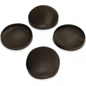 Rubber Cap Suitable for 48mm dia Magnets (49mm dia x 6mm high x 0.5mm thick) (Pack of 4)
