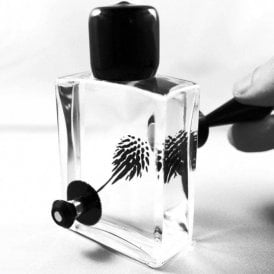 SQUARED Magnetic Ferrofluid Desktop Display - Black (60ml)