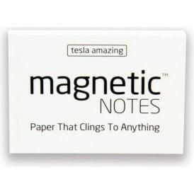 Tesla Amazing Magnetic Notes - White (100 x 70mm) (Pack of 100)