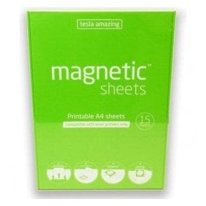 Tesla Amazing Printable Magnetic A4 Pad (210 x 297mm)
