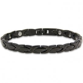 Unisex Rare Earth Magnetic Bracelet with Fold-over Clasp – Nebula