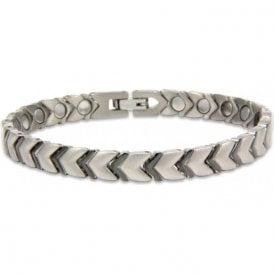 Unisex Rare Earth Magnetic Bracelet with Fold-over Clasp – Quasar