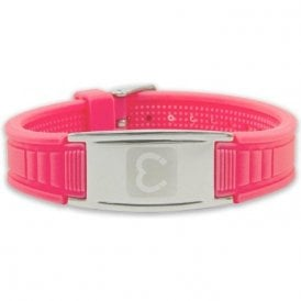 Unisex Rare Earth Magnetic Sports Bracelet - Pink