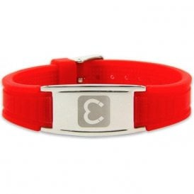 Unisex Rare Earth Magnetic Sports Bracelet - Red